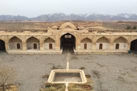 پاورپوینت بررسی کاروانسرای قصر بهرام